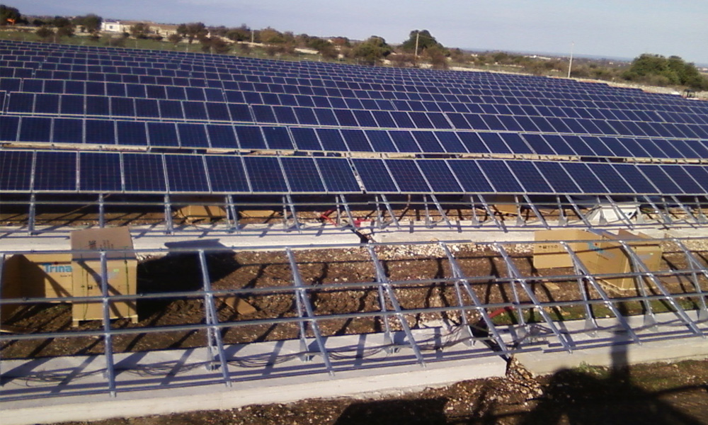 Photovoltaic Plant in Siracusa (Italy)